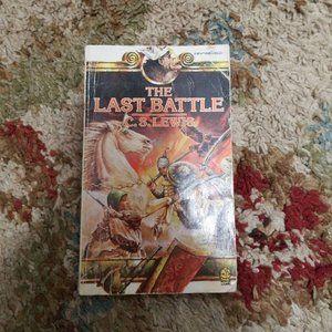 THE LAST BATTLE Paperback Book